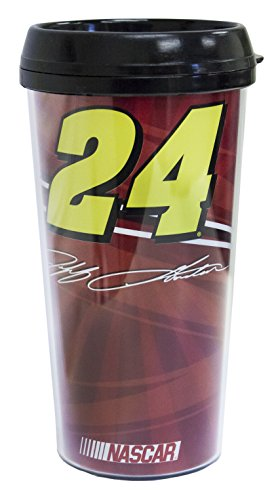 Racing Reflections NASCAR #24 JEFF GORDON TRAVEL COFFEE M...
