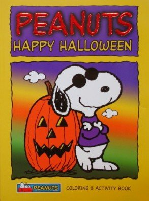 Peanuts Halloween Coloring and Activity Book (easy tear-out pages)