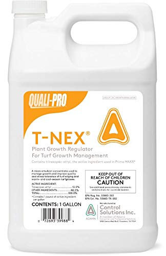 Quali-Pro T-Nex Plant Growth Regulator (Primo Maxx) - Manage Growth, Improve Quality and Color, Helps Produce Healthy, Durable Blades in Turf Grass (1 -