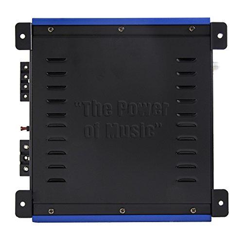 Crunch PowerDriveX 1000W 2 Channel Blue A/B Car Amplifier + 4-Gauge Wiring Kit by Crunch (Image #5)