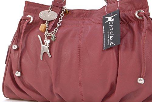 signé main cuir Catwalk Rouge en Alice Collection à Sac qw7XTSR