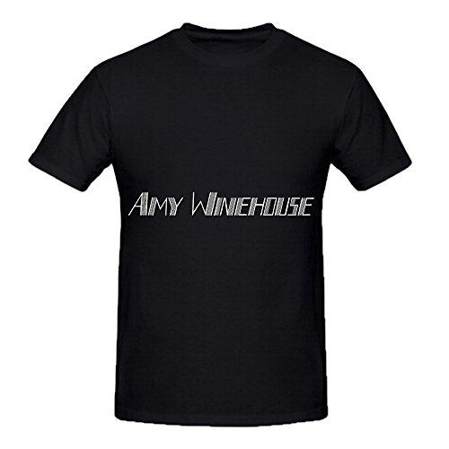 Winehouse Amy Soundtrack Men O Neck Diy Shirts Black