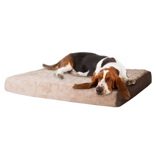 PETMAKER Memory Foam Dog Bed with Removable Cover by PETMAKER