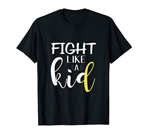 - Childhood Cancer Awareness Gold Ribbon Shirt Apparel