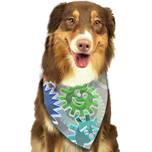 Pet Scarf Dog Bandana Bibs Triangle Head Scarfs Gear Database Accessories for Cats Baby Puppy -