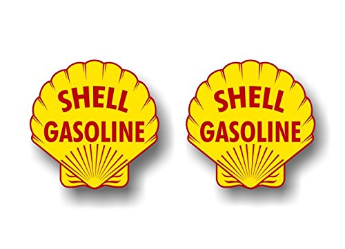 (2 Vintage Shell Gasoline Antique Gas Pump 4