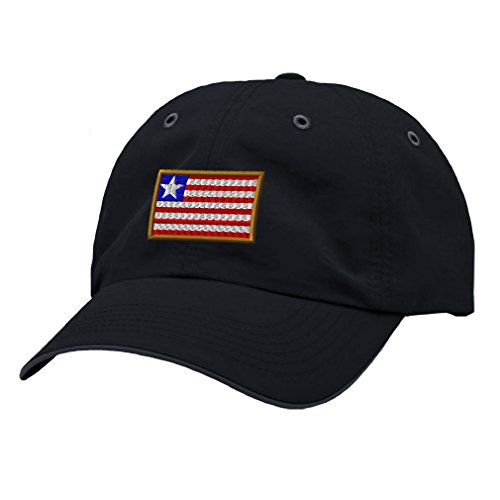 Speedy Pros Liberia Embroidery Design Richardson Polyester Water Repellent Cap Navy/Charcoal