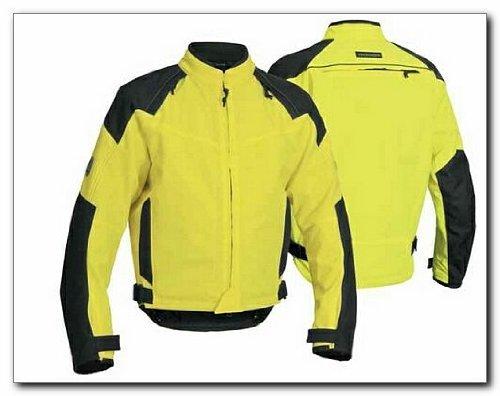 Firstgear Rush Tex Jacket (Medium) (Day Glo/Black)