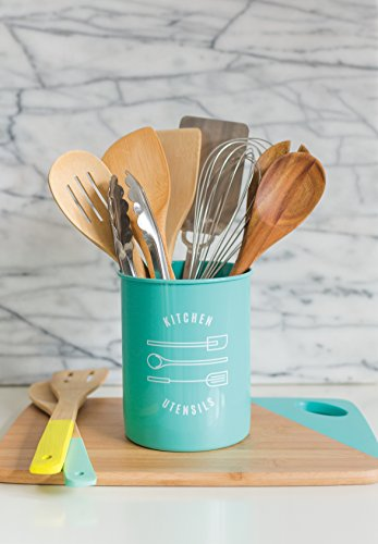 Now Designs Utensil Crock, Turquoise by Now Designs (Image #1)