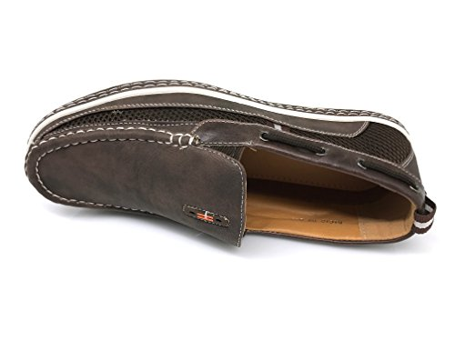 DC9N Mens Fall Summer Light Weight Casual Fit Classic Fashion Slip On Loafers Boat Shoes Brown OMTN49o8