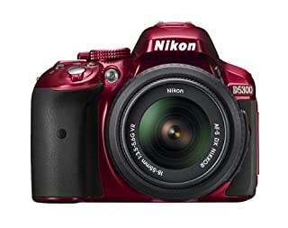 Nikon D5300 24.2 MP CMOS Digital SLR Camera with 18-55mm Zoom Lens - Red (B00K2RAN4Y) | Amazon price tracker / tracking, Amazon price history charts, Amazon price watches, Amazon price drop alerts