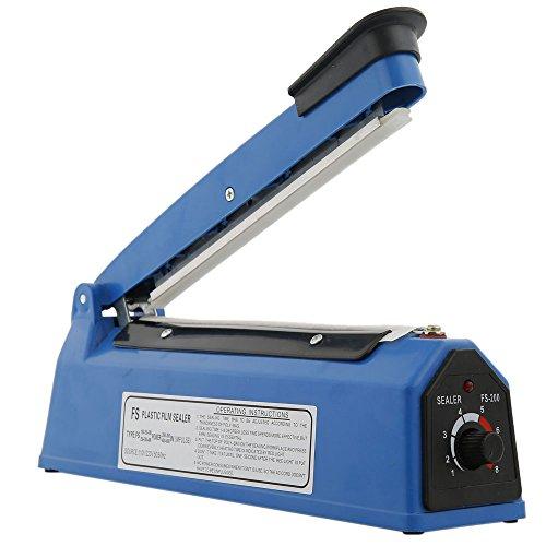Z ZTDM 12'/450W Portable Plastic Heat Sealer Hand Press,Impulse Manual Sealing Machine,For Food Shrink Wrap Bags