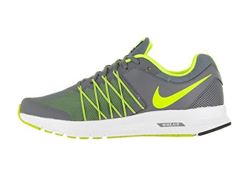 Nike Heren Air Relentless 6 Hardloopschoen Cool Grijs / Volt / Zwart / Wit