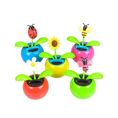 Mini Solar Flower by Bargain World