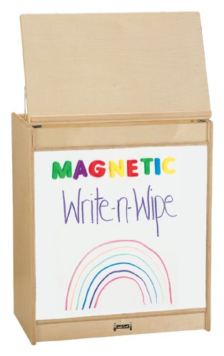 Thriftykydz Big Book Easel - Magnetic Write-N-Wipe - School & Play Furniture by CutieBeauty
