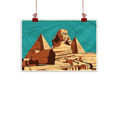 ature Inspiration Poster Wilderness Egyptian,Sphinx and Pyramids Giza 36
