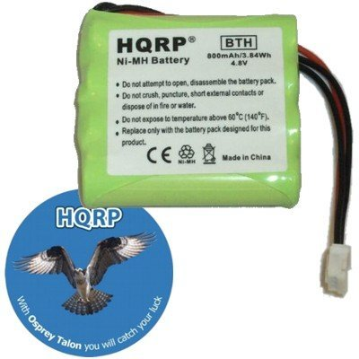HQRP Battery for Marantz RC5400P, PMD790, PMD750, RC9500, RC5200, RC9200, RC5400 Remote Control plus Coaster