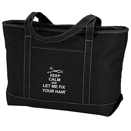 Simply Savvy Co USA Fix Your Hair Quick Access Sturdy Carry All Heat Resistant Tote