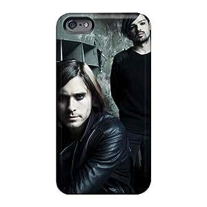 Iphone 6 JMm10354jAAo Unique Design Fashion 30 Seconds To Mars Band 3STM Pattern Protector Hard Phone Case -JasonPelletier