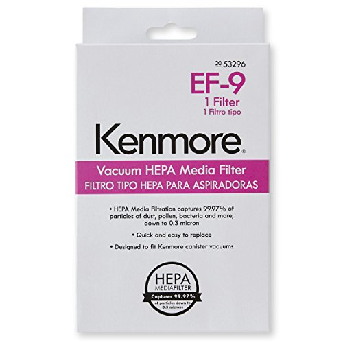 (Kenmore 53296 HEPA Media Vacuum Exhaust Filter, EF-9 )