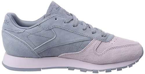 Sneakers Cloud Basses Leather Quartz Reebok NBK Classic Rain Femme Vert qvtwAF