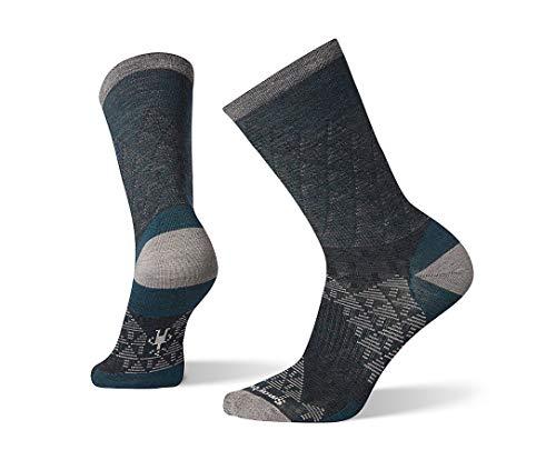 Smartwool PhD Outdoor Light Crew Socks - Men's Pressure Free Overland Wool Performance Sock