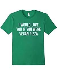 Vegan Pizza Foodie Shirt