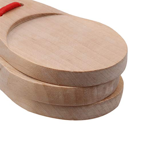 Joofff Toys Clapper Educational For Kids Wood Wooden Castanets Spanish Percussion Early qq4rFZR6w