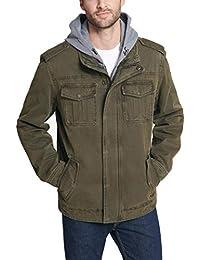 Men's Four-Pocket Hooded Jacket