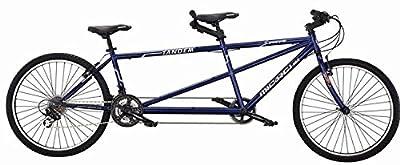 "J Bikes by Micargi Sport, Blue - 26"" 21-Speed 2-Seater Tandem Bicycle"