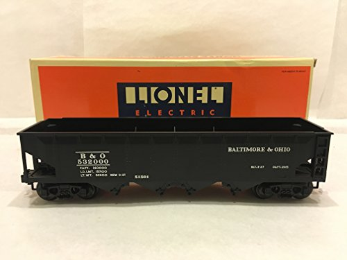 Lionel 51501 Baltimore & Ohio Semi Scale Die-cast 4-Bay Hopper