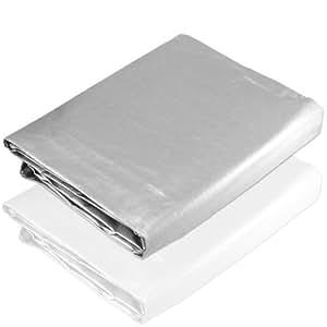 15 x 30 Silver Triple Layer Heavy Duty Tarp