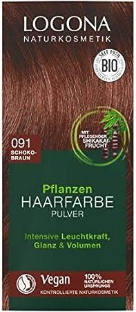 LOGONA Naturkosmetik - Coloración para el cabello en polvo ...