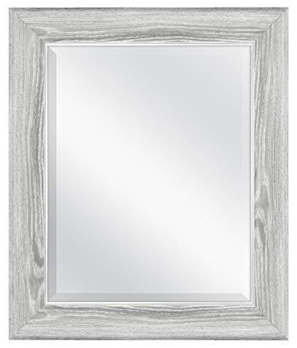 MCS Mirror, 21.5 x 25.5 Inch, Gray - Mirrors Your Molding Frame Bathroom
