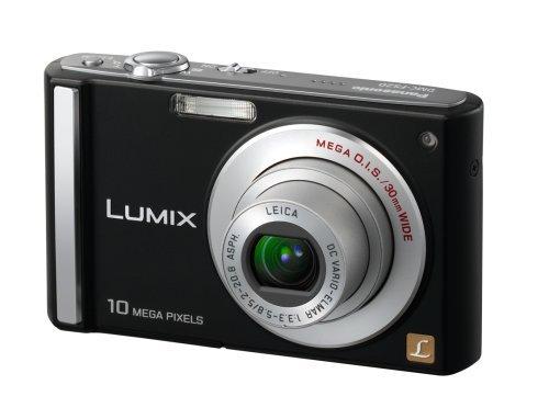 Panasonic Lumix DMC-FS20K 10MP Digital Camera with 4x Wide Angle MEGA Optical Image Stabilized Zoom (Black)