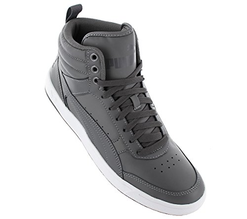 Rebound Chaussures Sneaker Gris Street Baskets Homme Leather V2 Puma Multicolore Top TZdwqd