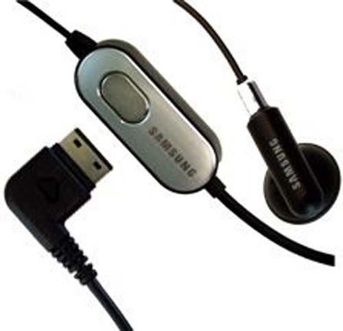 Samsung AAEP305SBE Hands-Free Mono Headset - Original OEM - Non-Retail Packaging - Black (Discontinued by (Samsung S20 Pin)