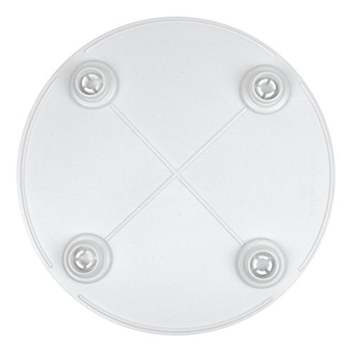 Bakery Crafts Round Separator Plate, 6-Inch - Frosted Wedding Cake Knife