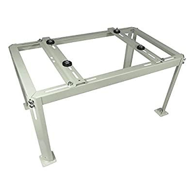 Mini Split Table - Ductless Heat Pump Support - Condenser Mounting Table for Air Conditioner. Painted Steel