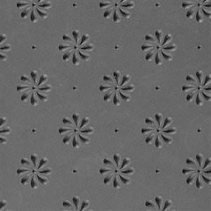 Cool Tools - Flexible Texture Tile - Field of Daisies Embossed - 4