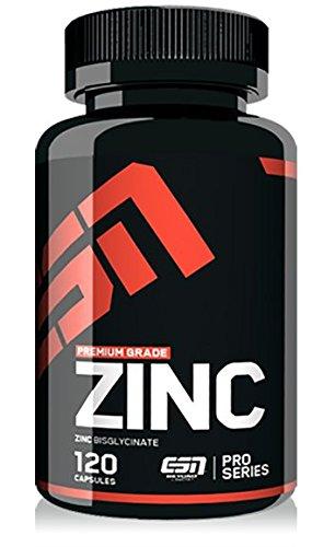 ESN Zinc, hochdosiert, Pro Series, 120 Kapseln, 1er Pack (1 x 90g Dose)