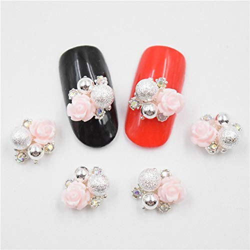 Nails Art Accessories - 10Pcs 3D Metal Alloy Nail Decoration/Charms/Studs,Nails 3D Jewelry Nail Rhinestones And Charms Rhinestones For Nails Rhinestones For Crafts- Light - Stud Dog Book