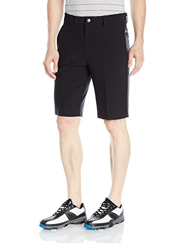 adidas Golf Men's Adi Ultimate 3 Stripe Shorts, Black, 38
