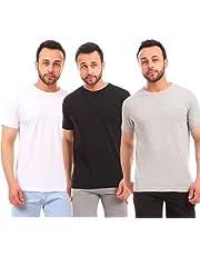 Andora-Bundle Of 3 Round Neck Slip On T-shirt