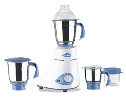 1756c8b1817 Buy Preethi Blue Leaf Silver 600-Watt Mixer Grinder Online at Low Prices in  India - Amazon.in