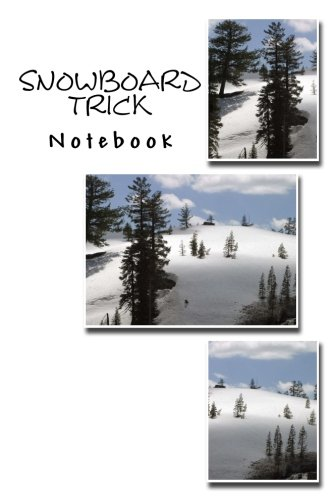 Snowboard Trick Notebook - Snowboard 180