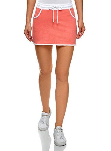 Jupe Ultra 4300n Orange oodji en Sportive Maille Femme RAnqwO