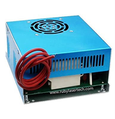 AC 110-220V input 40W CO2 laser power supply for 700-850mm 40-50W CO2 laser tube
