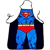 Superman pattern Apron Waterproof cooking Apron funny stuff Birthday Gifts