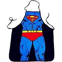 Superman pattern Apron Waterproof cooking Apron funny stuff Birthday Gifts